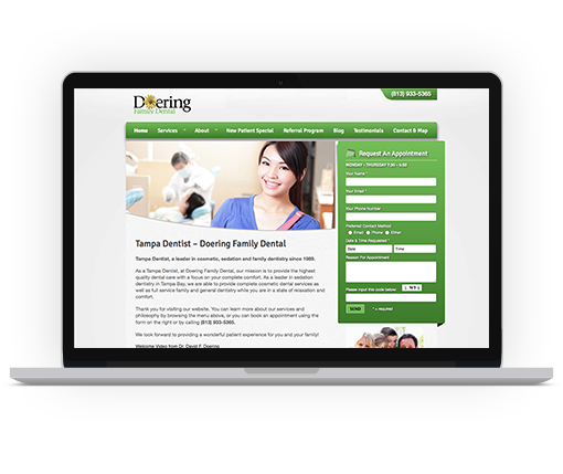 Doering Website Redesign