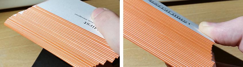 orange edge business cards final result