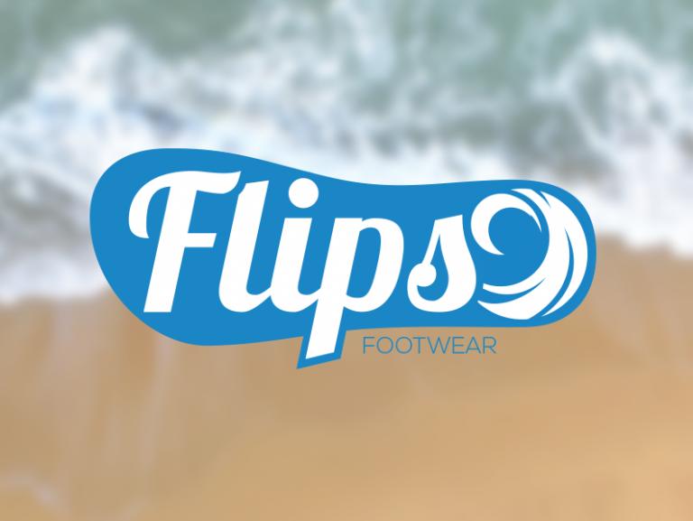 Flips Logo & Brand Design