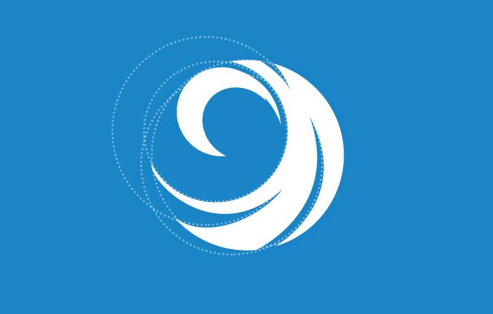 Flips rip-curl logo design