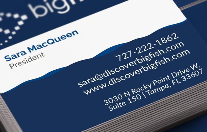 Business card design tampa big fish contact business card business card design tampa big fish contact business card colourmoves